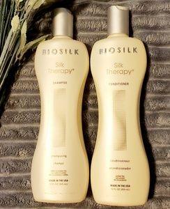 NWT, Biosilk silk therapy Shampoo& Conditioner.